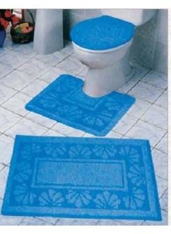 סט 2 שטיחים לאמבטיה
